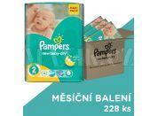 Pampers Active Baby Dry 2 Mini 3x76ks