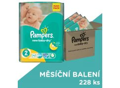 Pampers Active Baby Dry 2 Mini 3x76ks