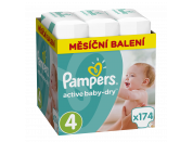 Pampers Active Baby Monthly Box S4 174ks