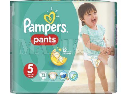 Pampers Kalhotkové plenky Carry Pack 5 Junior 22ks