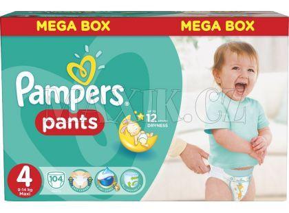Pampers Kalhotkové plenky Mega Box 4 Maxi 104ks