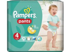 Pampers Plenkové kalhotky Carry Pack 4 Maxi 24ks