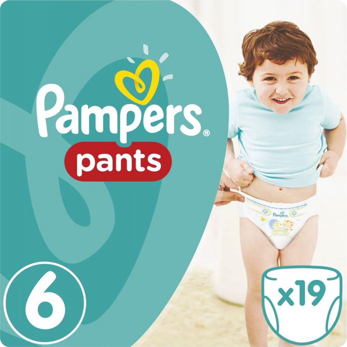 Pampers Kalhotkové plenky Carry Pack 6 Extra Large 19ks