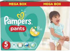 Pampers Kalhotkové plenky Mega Box 5 Junior 96ks