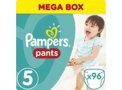 Pampers kalhotkové plenky Mega Box S5 96ks
