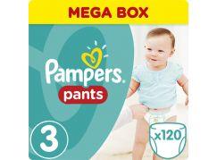 Pampers kalhotkové plenky Mega Box S3 120ks