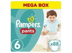 Pampers kalhotkové plenky Mega Box S6 88ks