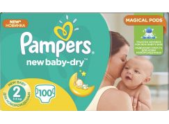 Pampers New Baby 2 Mini 100 ks