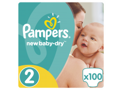Pampers New Baby Giant Pack S2 100ks