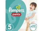 Pampers Plenkové kalhotky Carry Pack 5 Junior 22ks