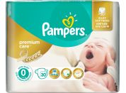 Pampers Premium Care 0 Newborn 30ks