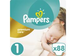 Pampers Premium Care 1 Newborn 88ks
