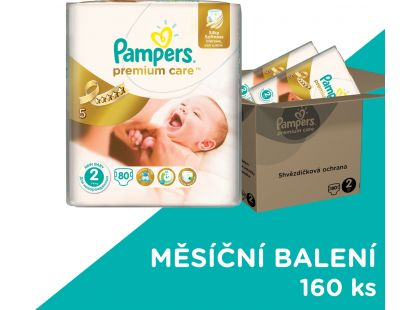 Pampers Premium Care 2 Mini 160ks