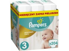 Pampers Premium Care 3 Midi 204ks
