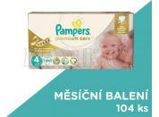 Pampers Premium Care 4 Maxi 104ks