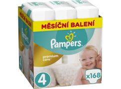 Pampers Premium Care 4 Maxi 168ks