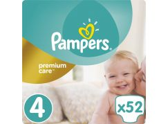 Pampers Premium Care 4 Maxi 52ks