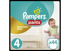 Pampers Premium kalhotkové plenky Value Pack S4 44ks