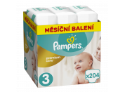 Pampers Premium Care 3 MIDI 204ks 5-9 kg