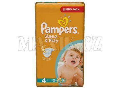 Pampers Sleep&Play 4 Maxi 68ks