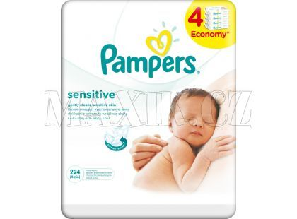 Pampers Ubrousky Sensitive 4x56ks