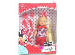 Panenka Evička Minnie Mouse Hairstyles kalhoty