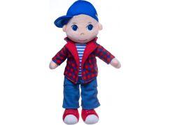 Panenka kluk Tomáš plyš 40 cm se zvukem