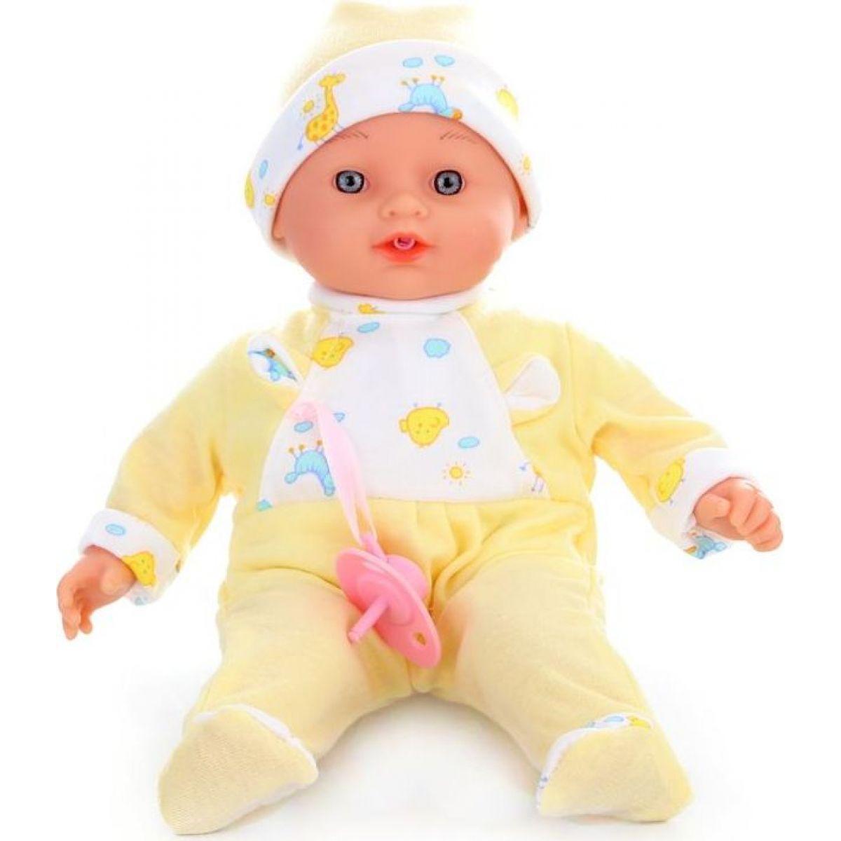 Panenka miminko brečící žluté