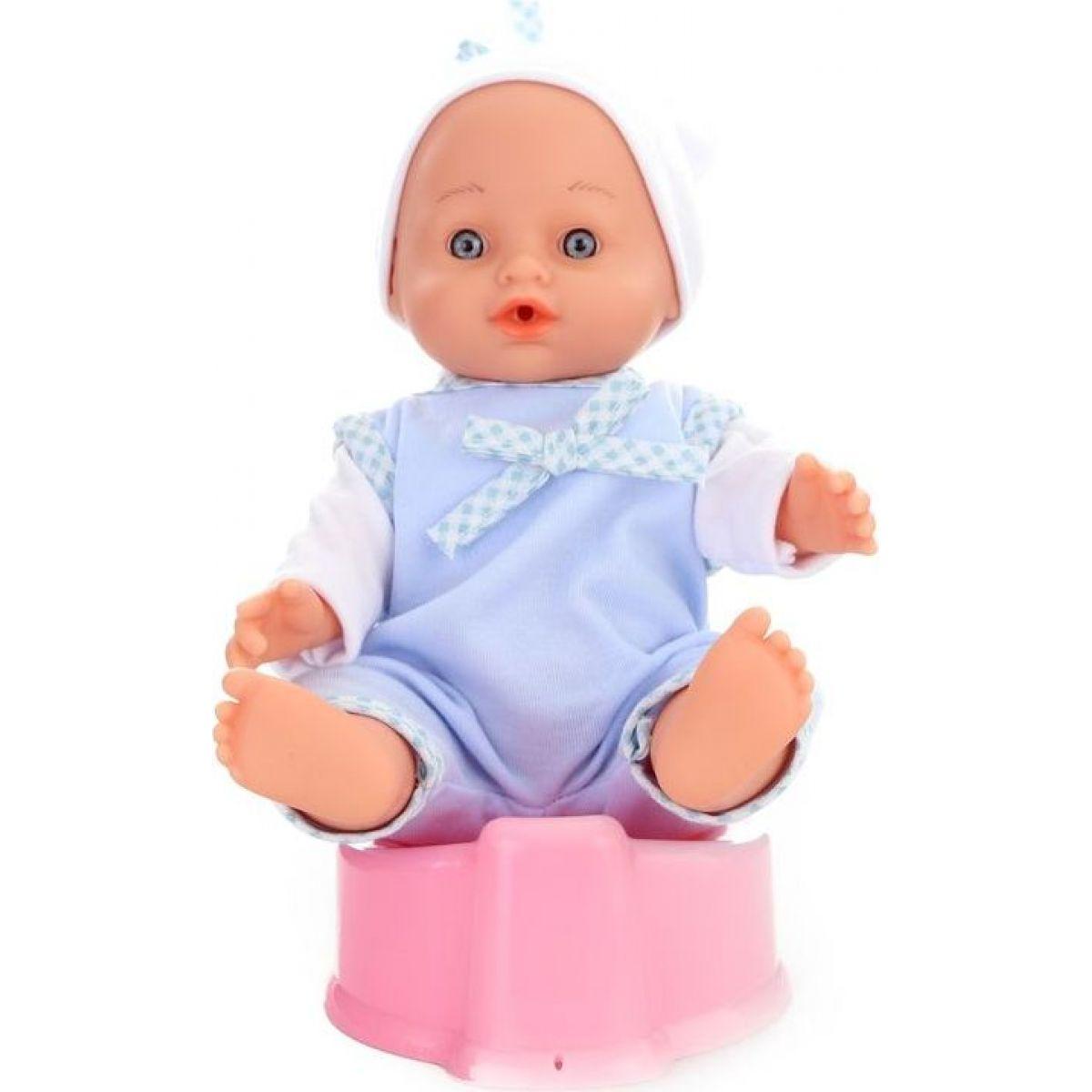 Panenka miminko čurací - modrá