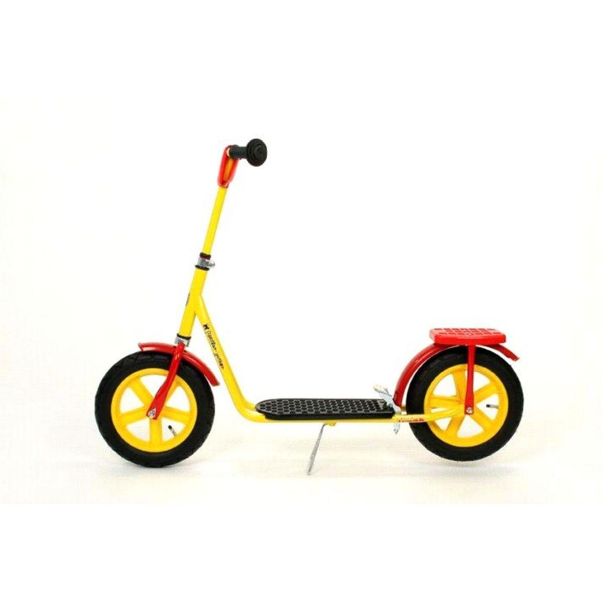Panther Junior Koloběžka TRIXX 12 Speciál - žlutý PVC ráfek-žlutá