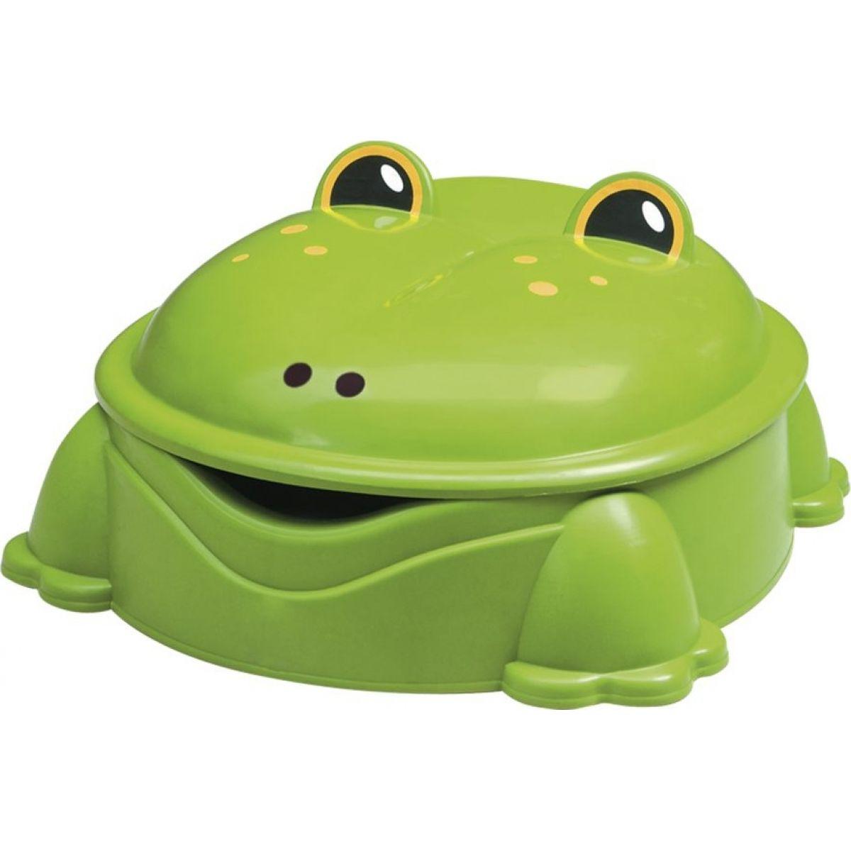Paradiso Pískoviště žába zelené s víkem