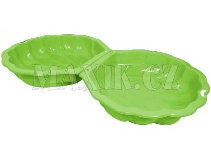 Paradiso Pískoviště mušle zelená