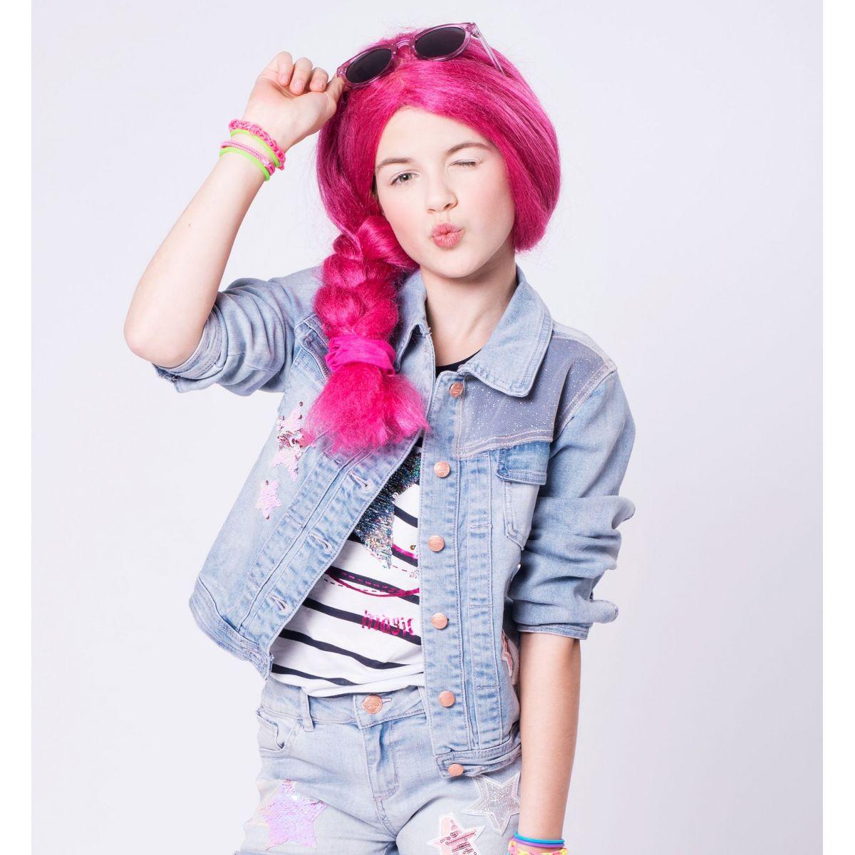 Paruka Lollipopz růžová – Laura