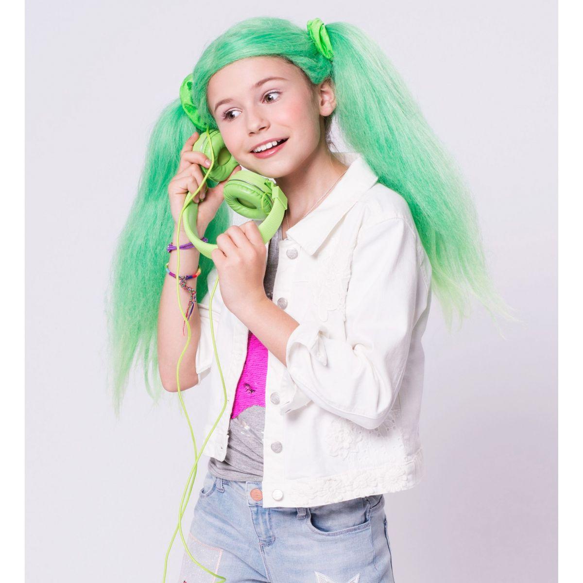 Paruka Lollipopz zelená – Ela