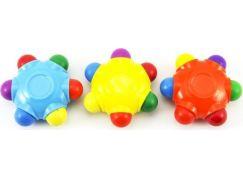 Pastelky hvězda voskovky 6 barev