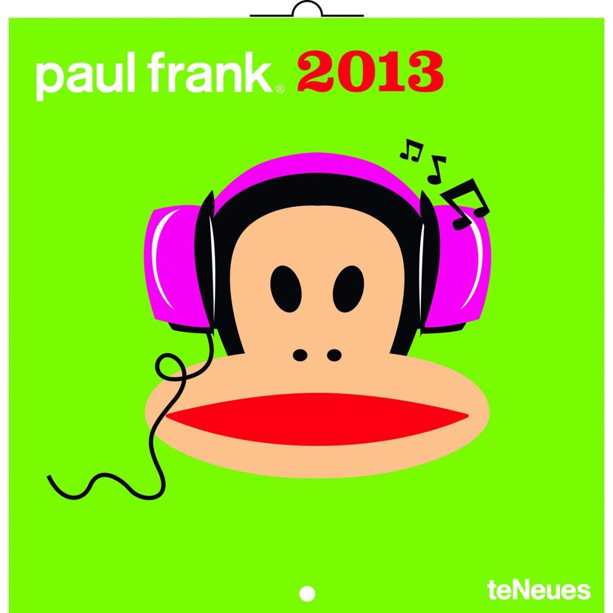 Paul Frank, poznámkový kalendář 2013, 30 x 60 cm