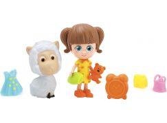 Paula & Friends panenka s doplňky a zvířátkem ovečka
