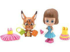 Paula & Friends panenka s doplňky a zvířátkem lyšák