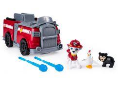 Paw Patrol Auto a hrací sada 2 v 1 Marshall