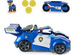 Paw Patrol Film Chaseovo auto s motorkou v jednom