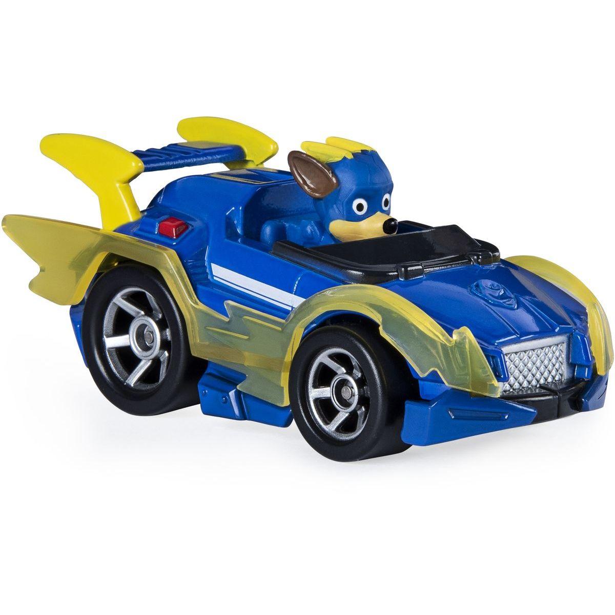 Spin Master Paw Patrol kovová autíčka super hrdinů Chase