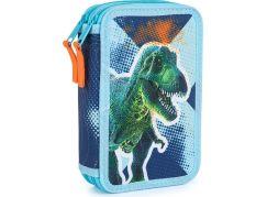 Penál dvoupatrový prázdný Premium Dinosaurus