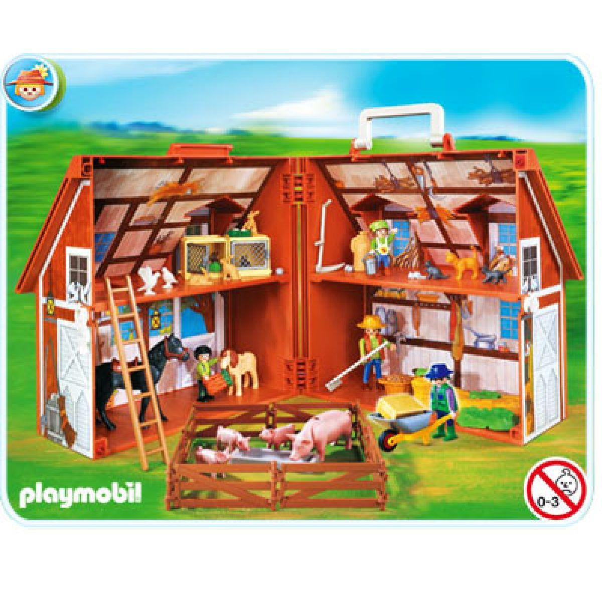 Přenosná farma Playmobil 4142