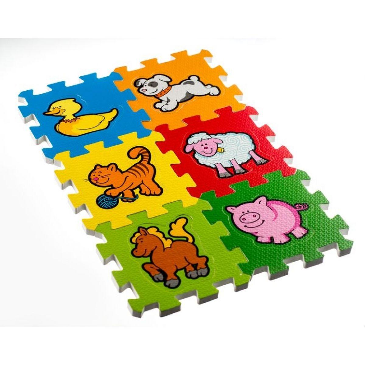 Pěnové puzzle Moje první zvířátka 6ks