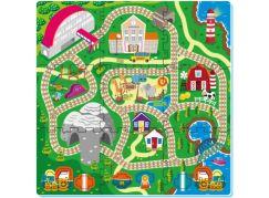 Pěnové puzzle Železnice 9ks