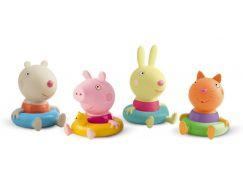 Peppa Pig figurky do koupele 4ks kamarádi