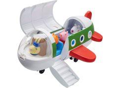 Peppa Pig letadlo s figurkou