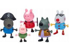 Peppa Pig maškarní šaty, 5 figurek