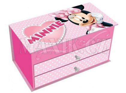 Šperkovnice Minnie 19x10,5cm