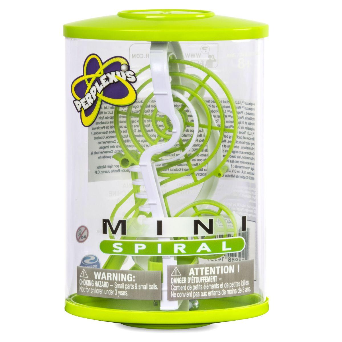 Perplexus mini hlavolam Zelený Spiral